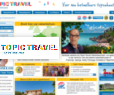 Reisorganisatie Topic Travel